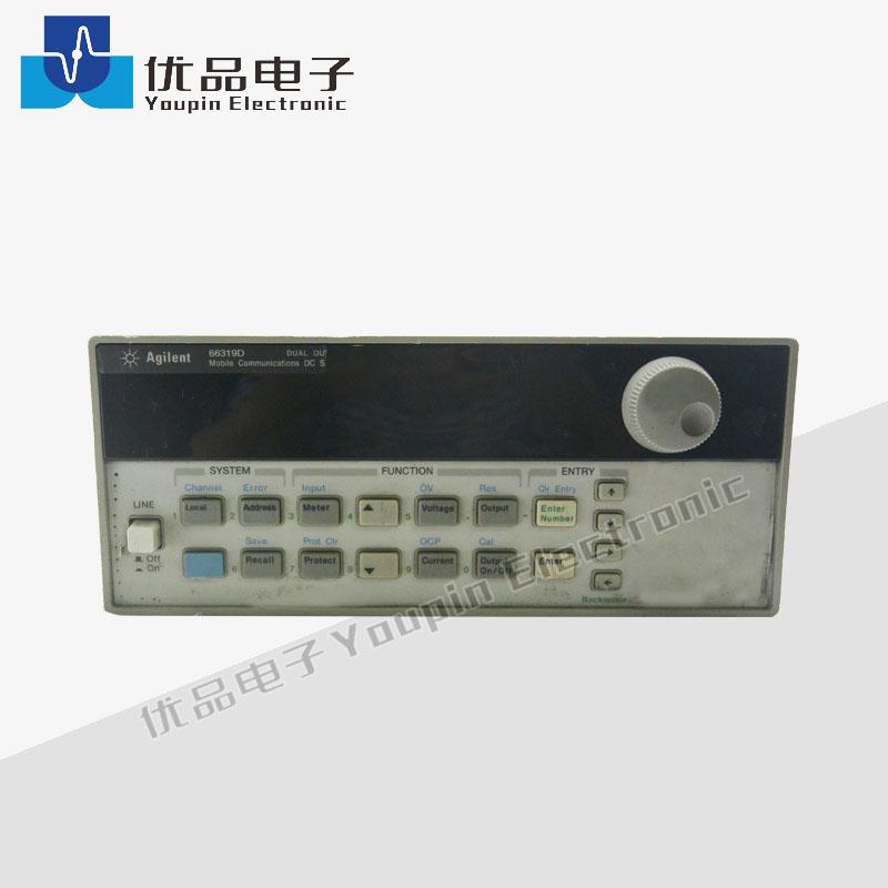 手机移动信号接收器_是德(安捷伦)66319D 双路移动通信直流电源, 带电池仿真和DVM, 是 ...