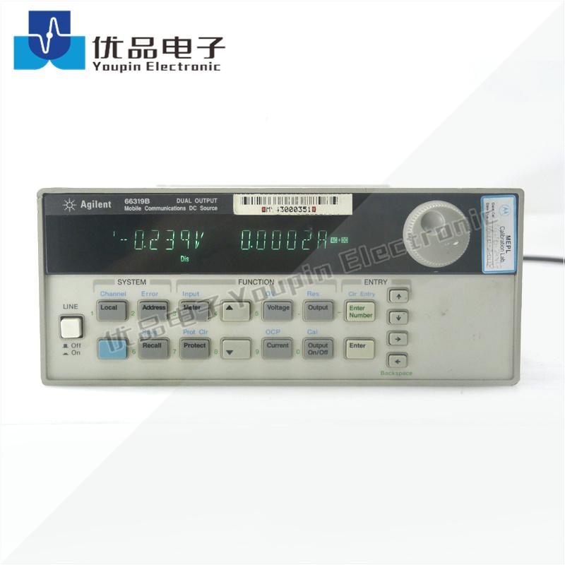 是德(安捷伦)66319B 双路移动通信直流电源,带电池仿真功能